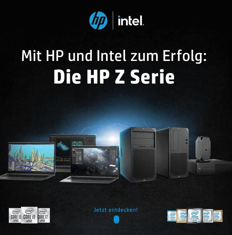 Mit HP und Intel zum Erfolg: Die HP Z Serie